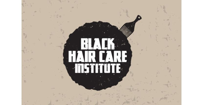 Beauty salon logo - Black Hair Care Institute
