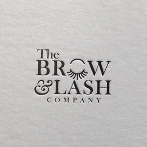 Beauty salon logo - The Brow & Lash Company
