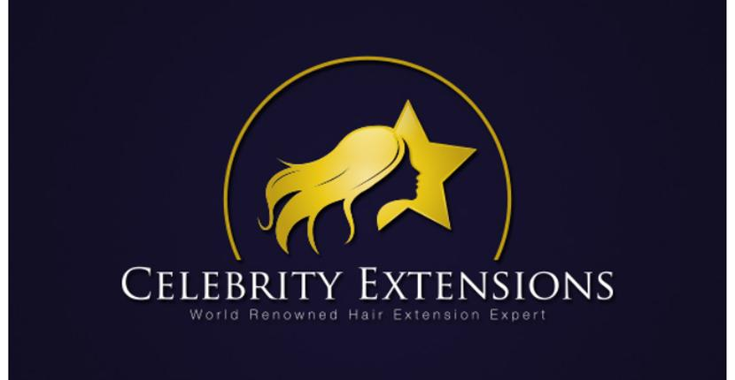 Beauty salon logo - Celebrity Extensions