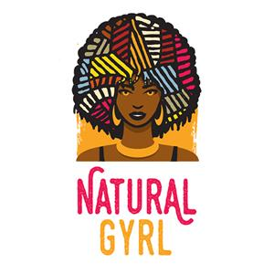 Beauty salon logo - Natural Gyrl