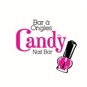 Beauty salon logo - Candy Nail Bar