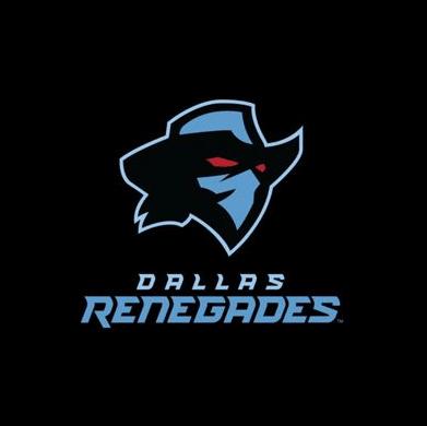 Football team logo - Dallas Renegades