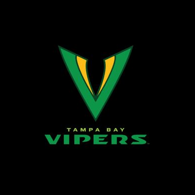 Football team logo - Tampa Bay Vipers