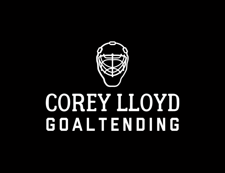 Sample football logo created with Looka - Corey Lloyd Goaltending