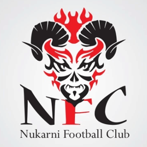 Football logo - Nukarni Football Club