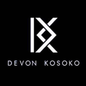 Monogram logo - Devon Kosoko