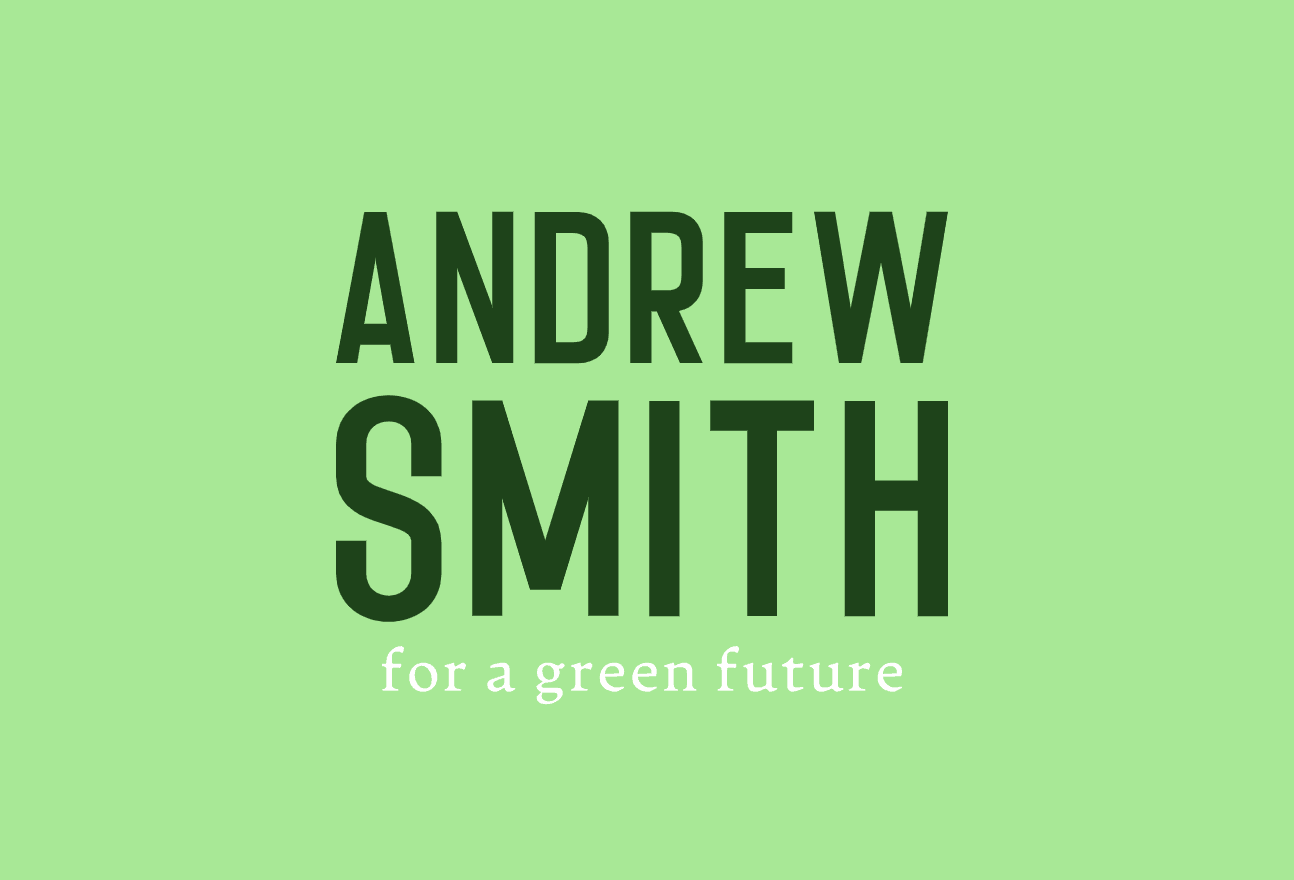 Political campaign logo, Andrew Smith - made with Looka