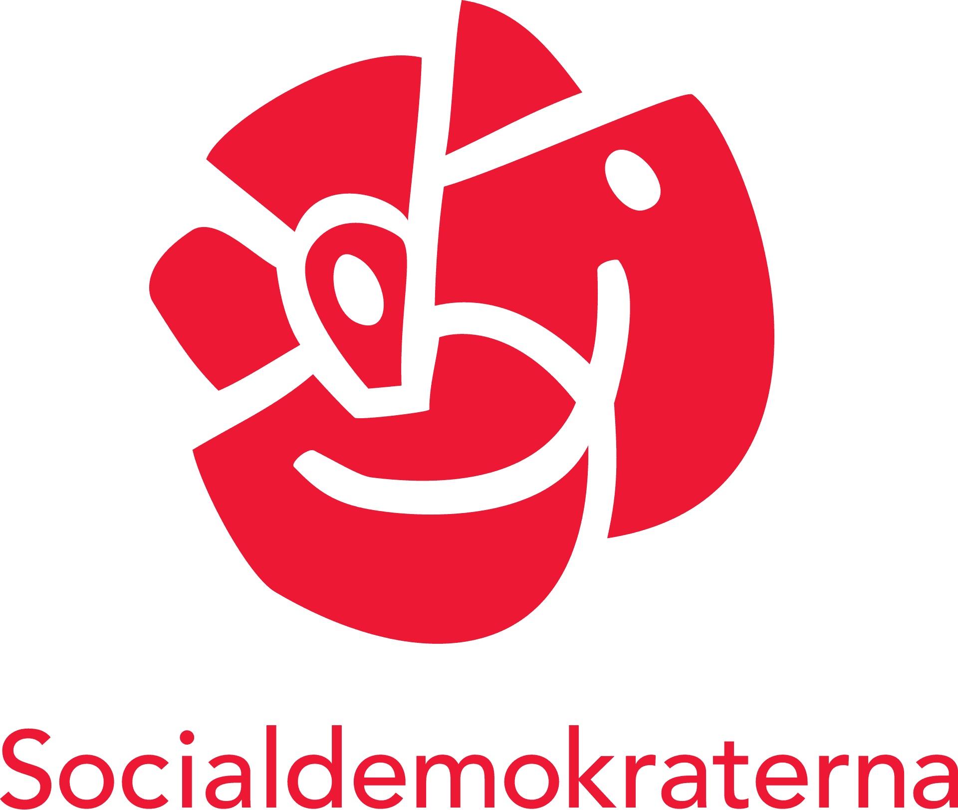 Political campaign logo - Socialdemokraterna