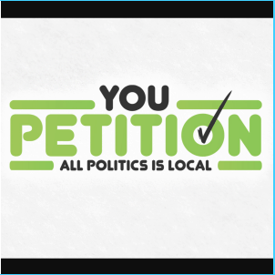 Political campaign logo - You Petition