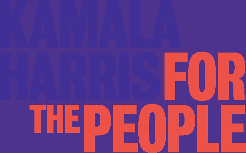 Political campaign logo - Kamala Harris
