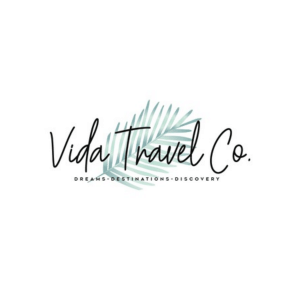 Travel Agent Logo - Vida Travel Co.