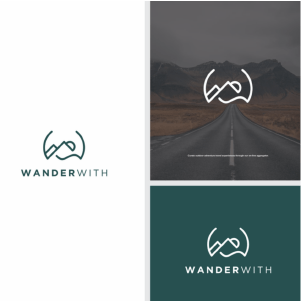 Travel Agent Logo - WanderWith