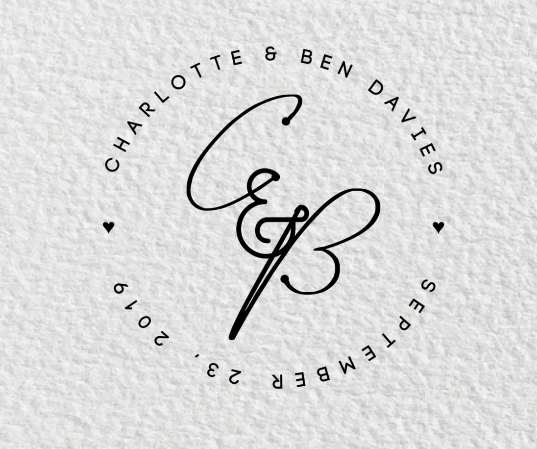 Charlotte & Ben wedding logo
