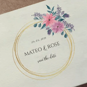Mateo & Rose Wedding logo