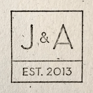 J&A Wedding logo