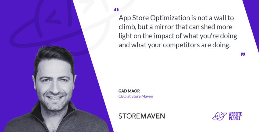Gad Maor, CEO at StoreMaven