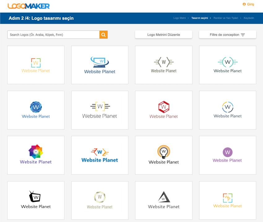 LogoMaker screenshot