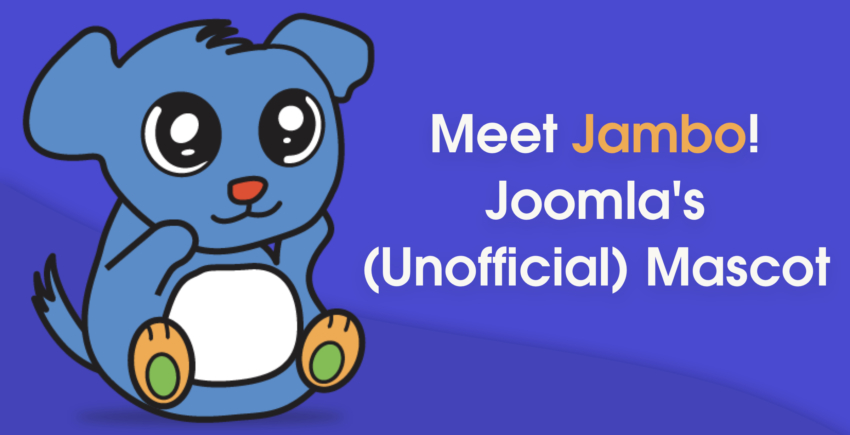 Introducing Jambo! The Cute, Unofficial Mascot of Joomla
