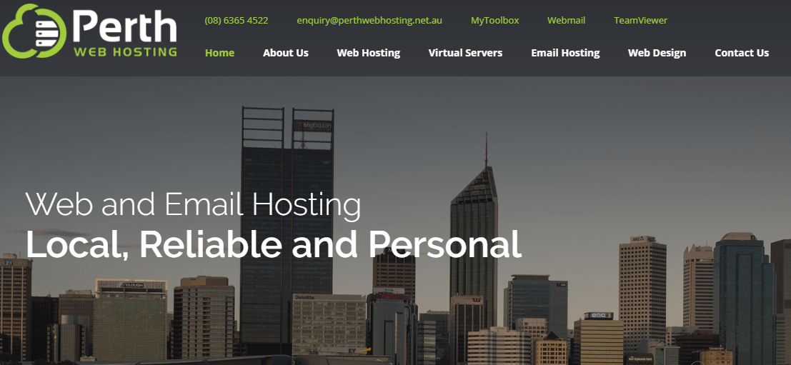 Perth Web Hosting