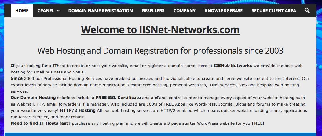 IISNet-Networks