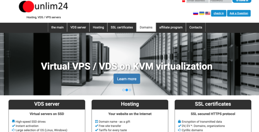 UNLim24 web hosting