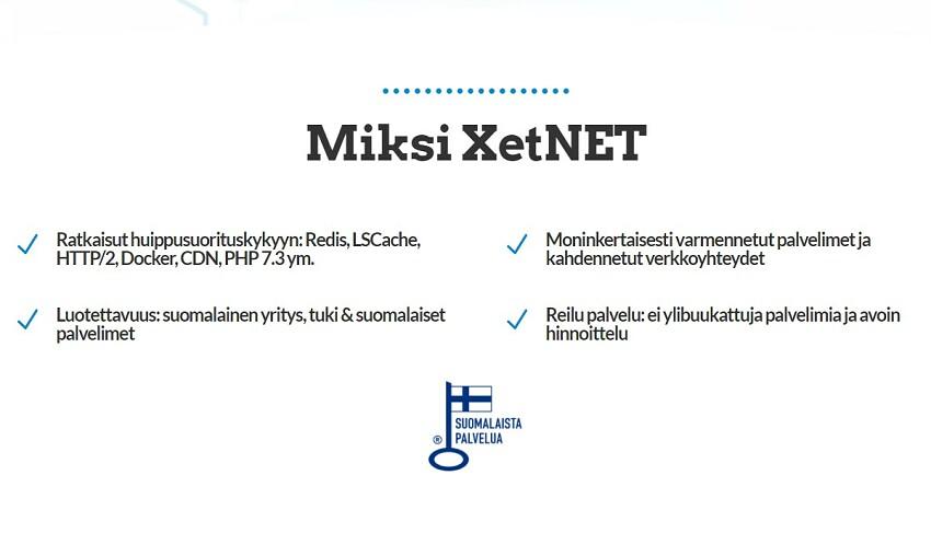 XetNet main page optimage2