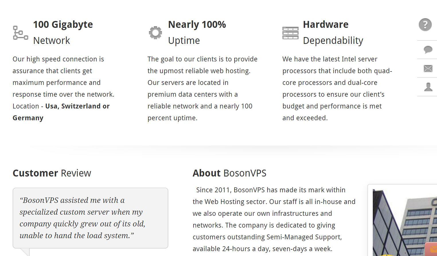 BosonVPS Overview
