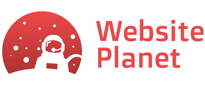 Website Planet logo made with DesignEvo
