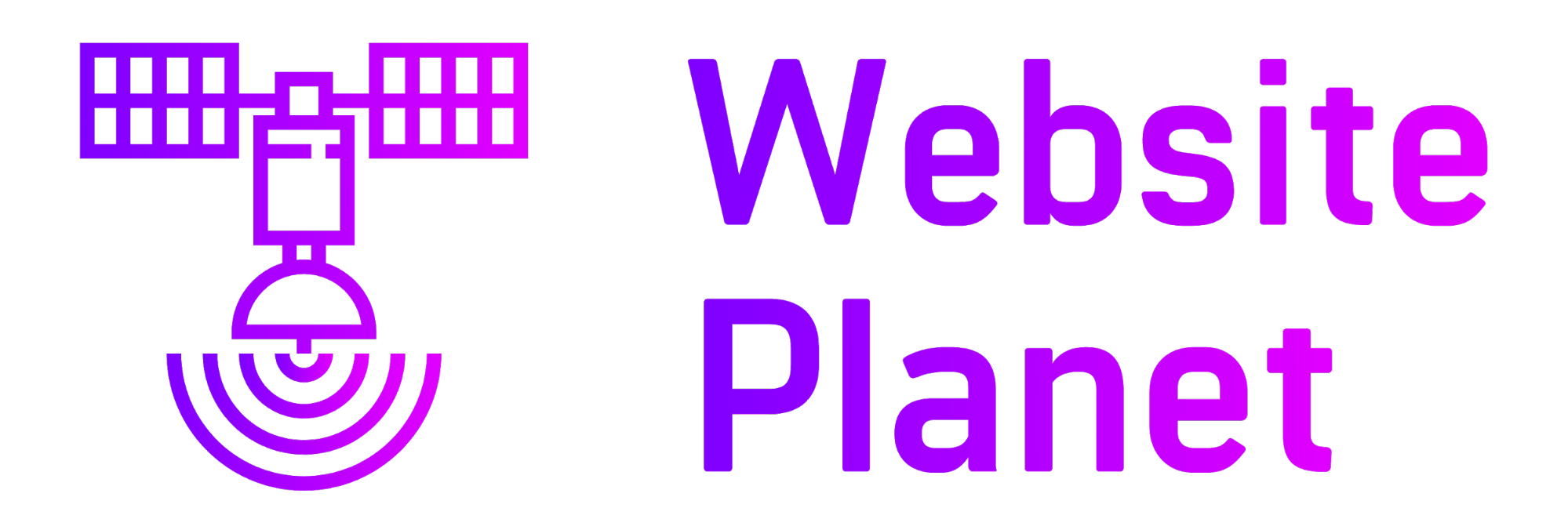 Website Planet logo made with Looka