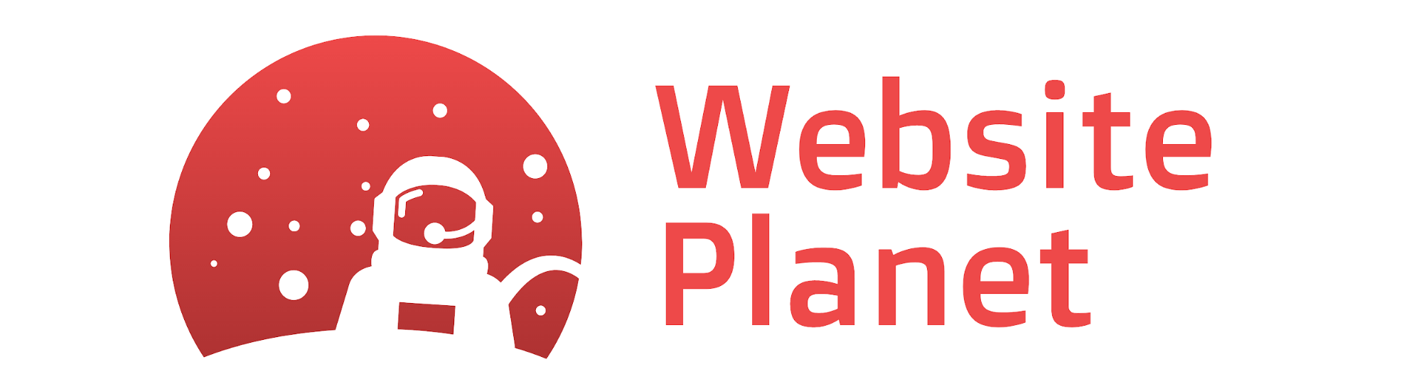 Website Planet logo from DesignEvo
