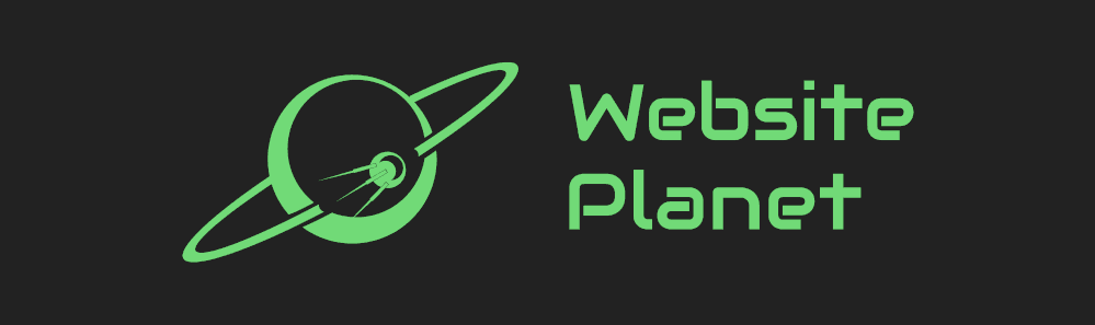 Website Planet logo sample - sci-fi style