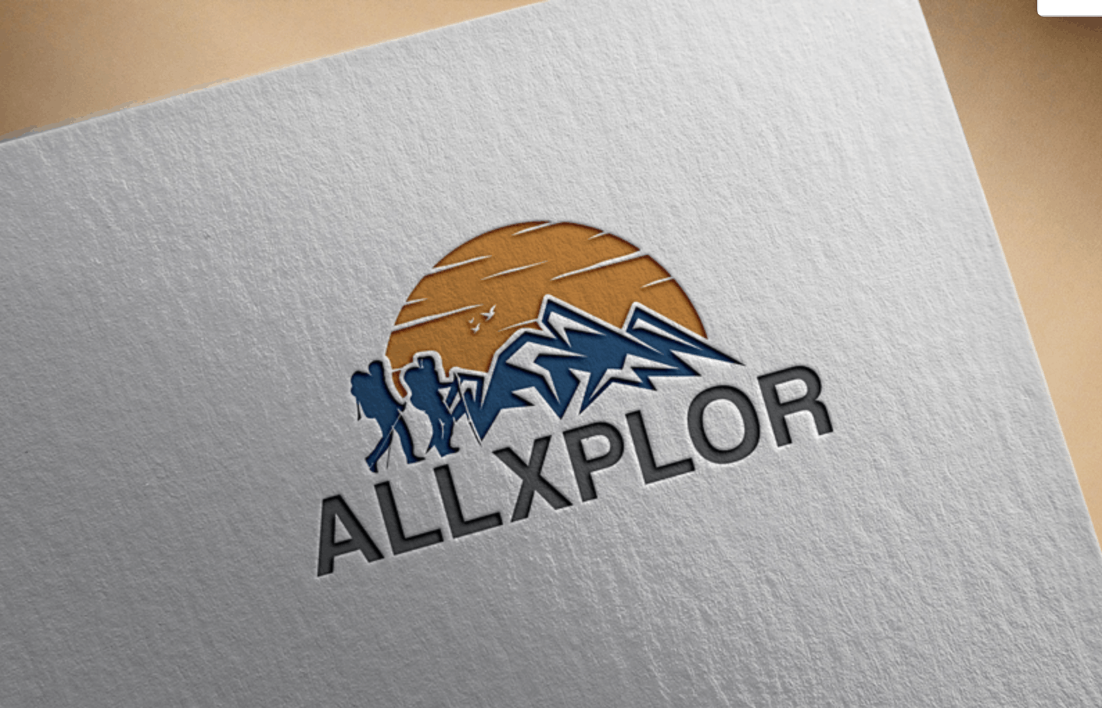 Renderforest alternatives - sample logo made by DesignCrowd designer - AllXPlor