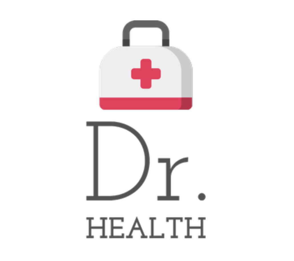 Renderforest alternatives - sample logo made with Tailor Brands - Dr. Health