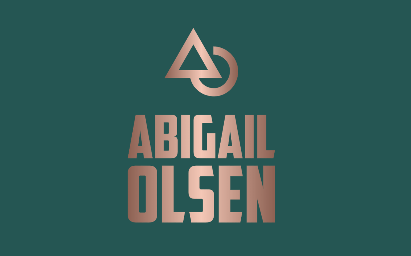 Renderforest alternatives - sample logo made with Looka - Abigail Olsen