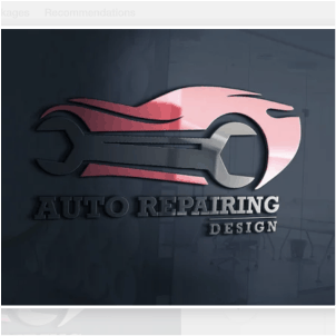 Automotive logo - Auto Repairing Design