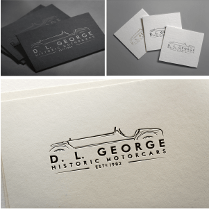 Automotive logo - D. L. George