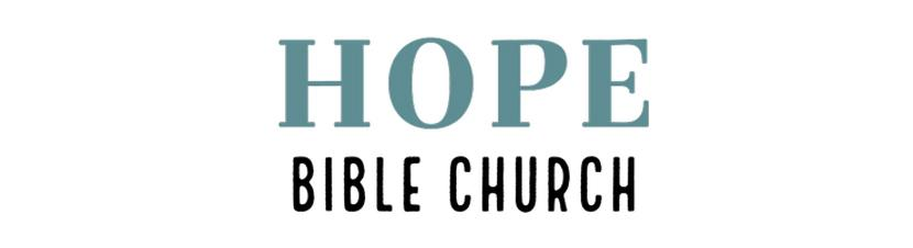 Sample logo made with Tailor Brands - Hope Bible Church