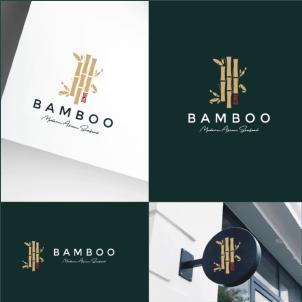 Restaurant logo design - Bamboo