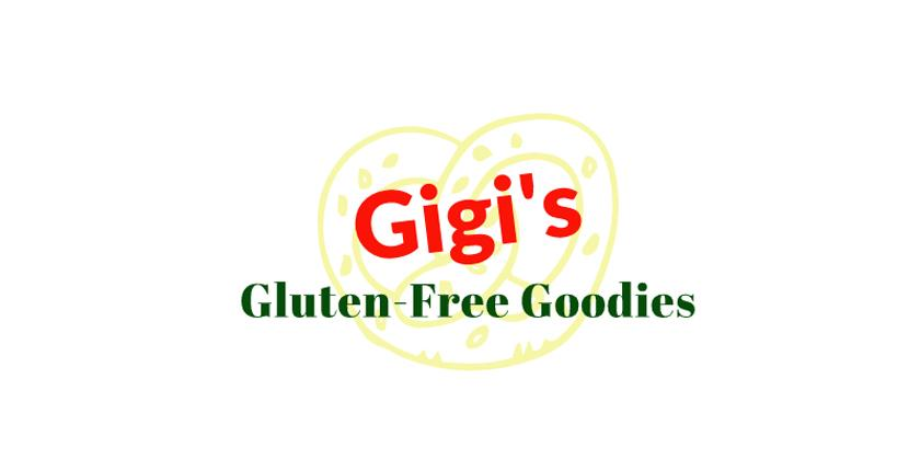 Sample bakery logo created with Wix Logo Maker - Gigi's Gluten-Free Goodies