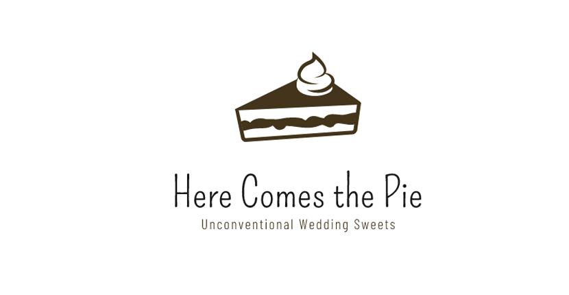 Sample bakery logo created with Wix Logo Maker - Here Comes the Pie