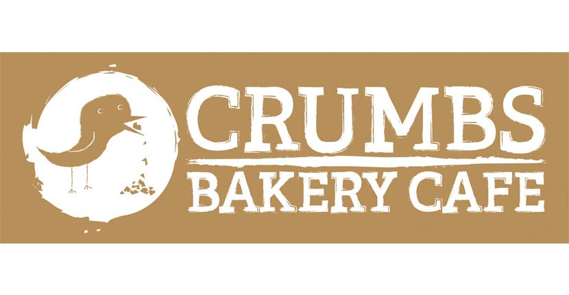 Bakery logo - Crumbs Bakery Cafe