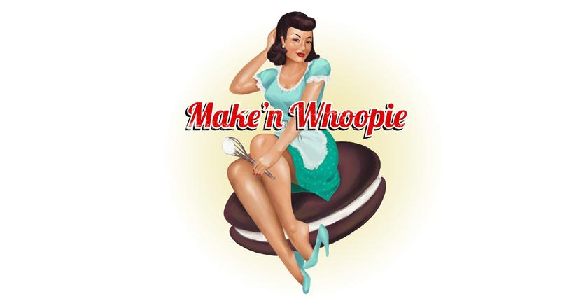 Bakery logo - Make'n Whoopie