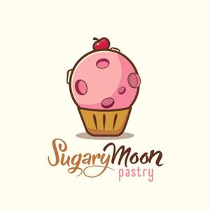 Bakery logo - Sugary Moon Pastry