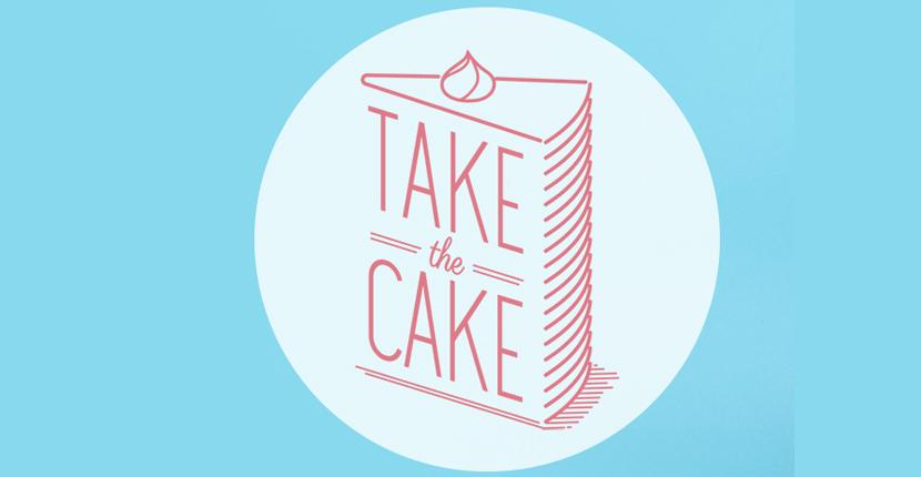Bakery logo - Take the Cake