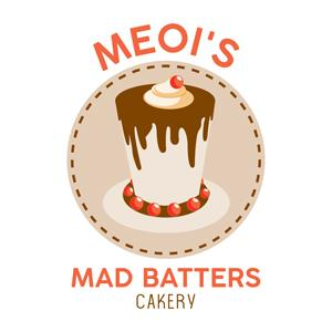 Bakery logo - MEOI'S Mad Batters Cakery