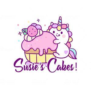 Bakery logo - Susie's Cakes