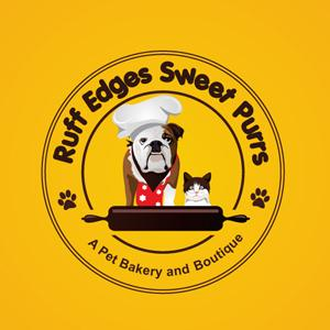 Bakery logo - Ruff Edges Sweet Purrs
