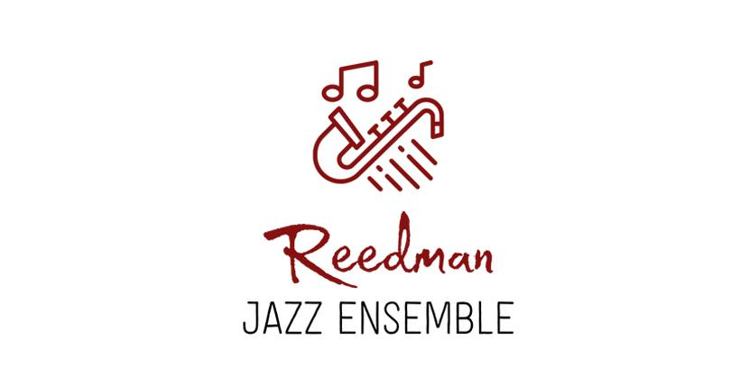 Band logo created with Tailor Brands - Reedman Jazz Ensemble