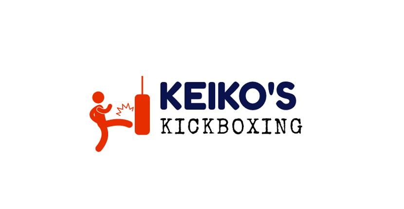 Sample fitness logo made with Wix Logo Maker - Keiko's Kickboxing
