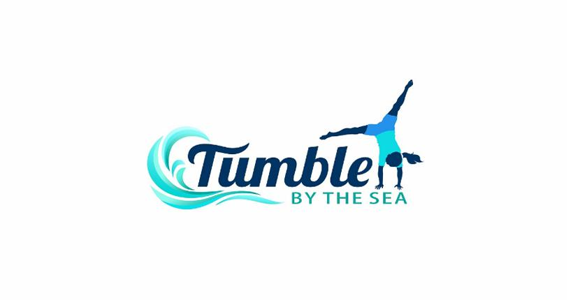 Fitness logo - Tumble by the Sea